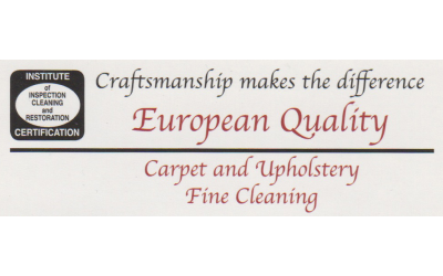 European Quality Carpet Cleaning