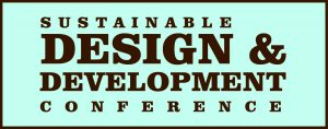 Sustainable Design & Development Conference logo