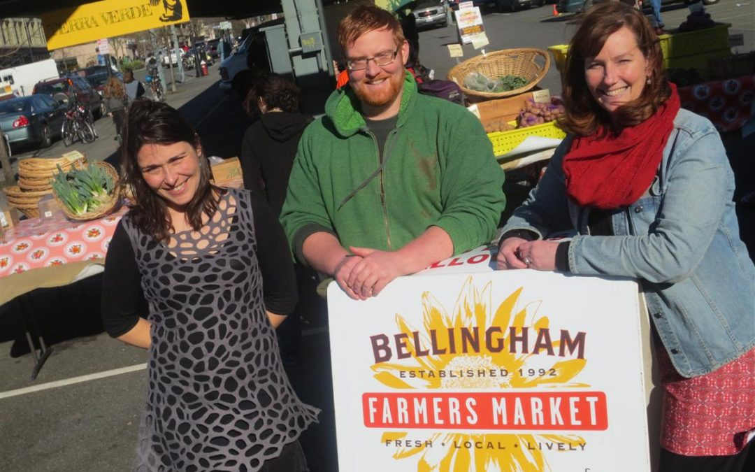 Committed Collaborator:  Caprice Teske of the Bellingham Farmer's Market