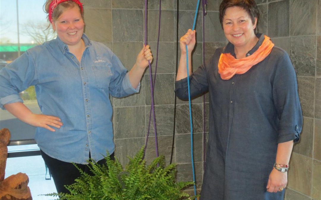 Taking Care of Each Other: Colleen Unema and her staff at Brio Laundry