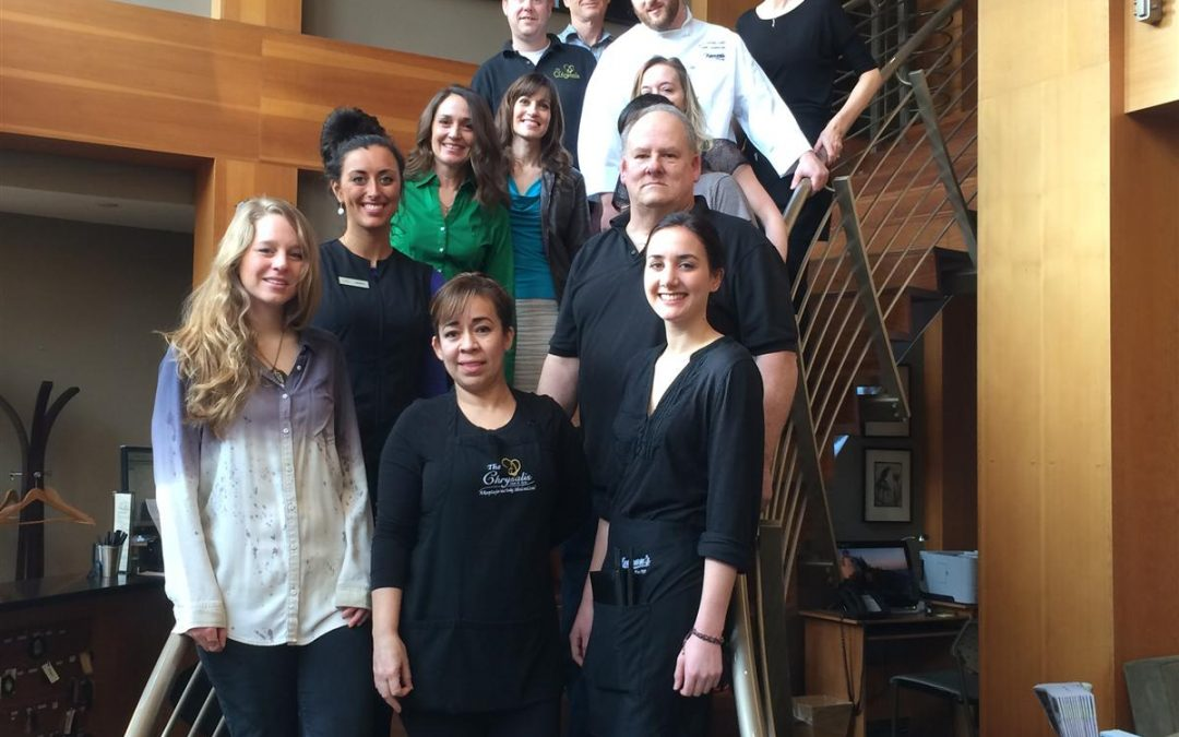 A Seriously Sustainable Team: Chrysalis Inn and Spa