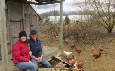 Making the World A Better Place: Anna & Geoff Martin, Owners of Osprey Hill Farm