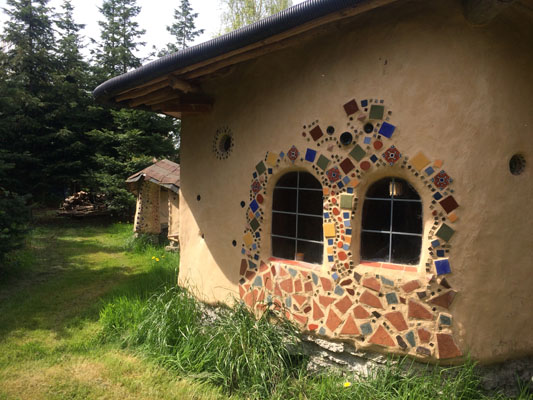 7. Cob Cottage