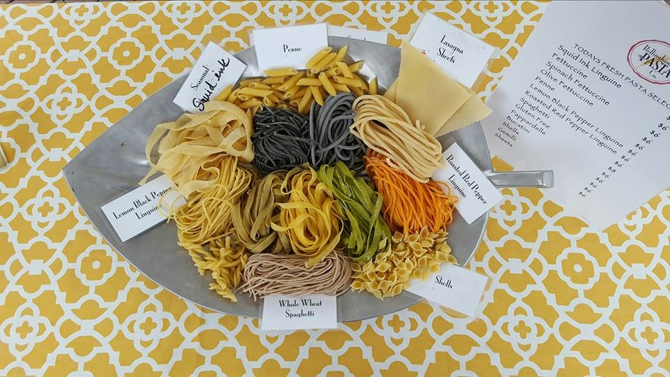 Pasta Options from Bellingham Pasta Co.