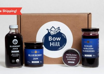Bow Hill Blueberries gift box