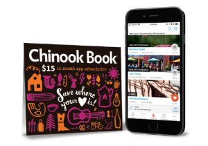 Chinook Book Sub Card + iphone