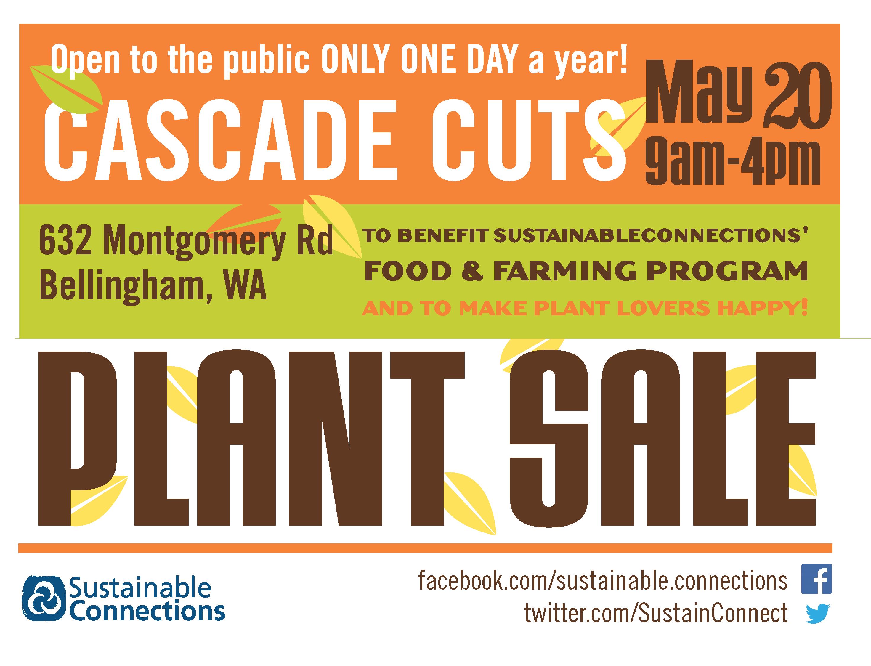 Cascade Cuts Plant Sale
