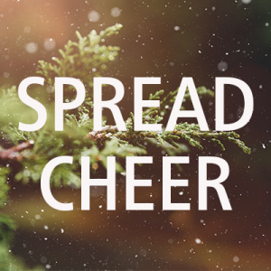 Spread the cheer!