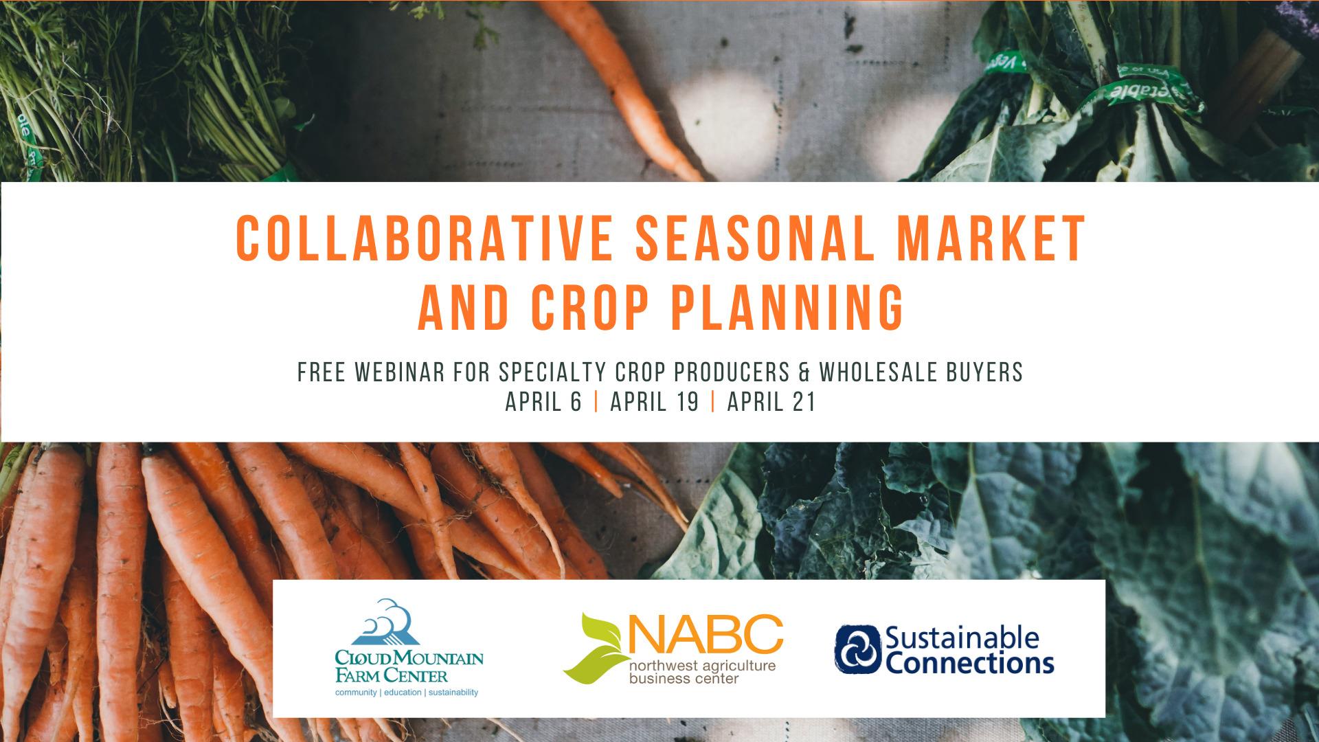 Collaborative Seasonal Market and Crop Planning