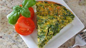 Crustless-Spinach-Quiche