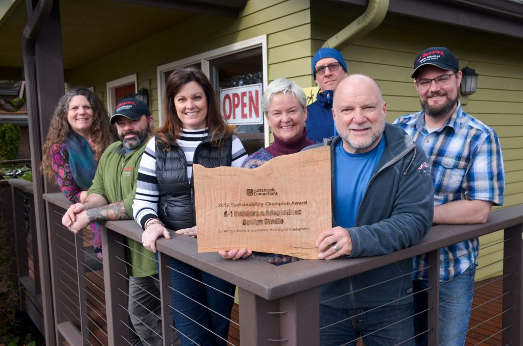 A-1 Builders Sustainability Champion Award