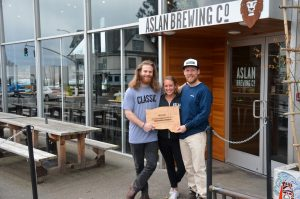 Aslan Brewing Co. Sustainability Champion Award