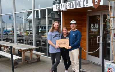 Aslan Brewing Co. Wins Strong Community Sustainability Champion Award