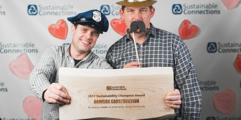 Dawson Construction wins Strong Community Award!