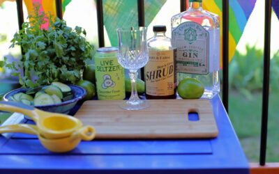 Gin and Tonic Cucumber Cooler