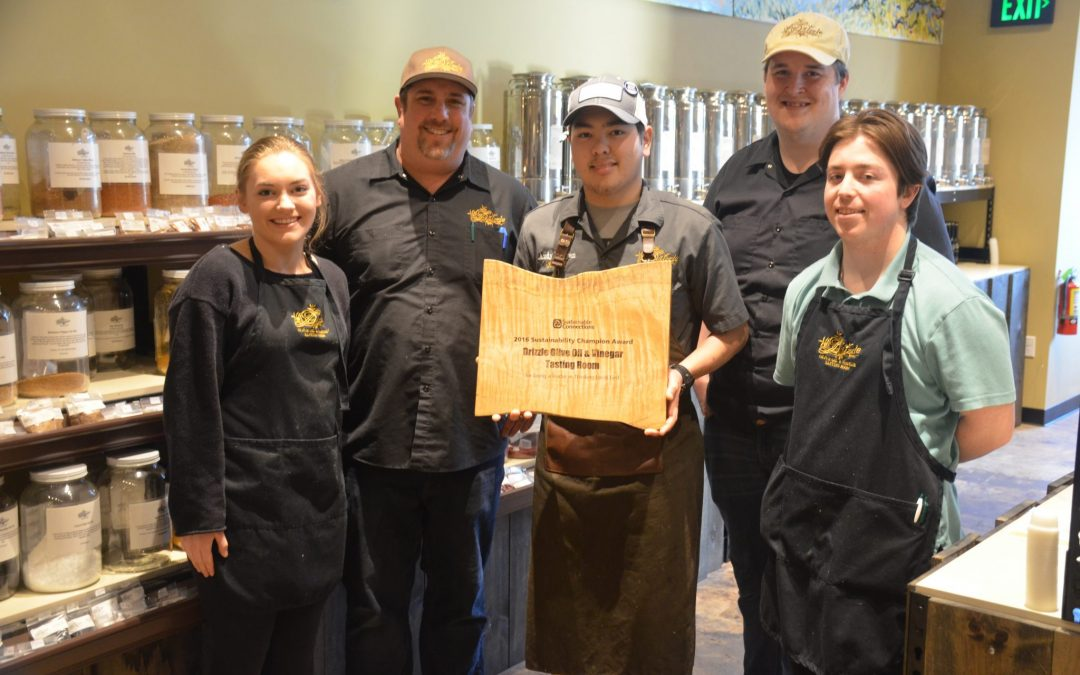 Drizzle Lynden Wins 2017 Thinking Local First Sustainability Champion Award