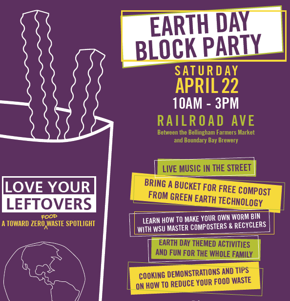 Earth Day Block Party: Love Your Leftovers