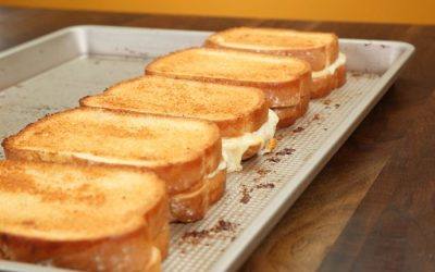 Five Cheese Sandwiches