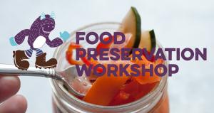 Food preservation workshop web header