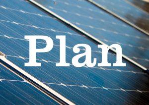 Plan on solar panels