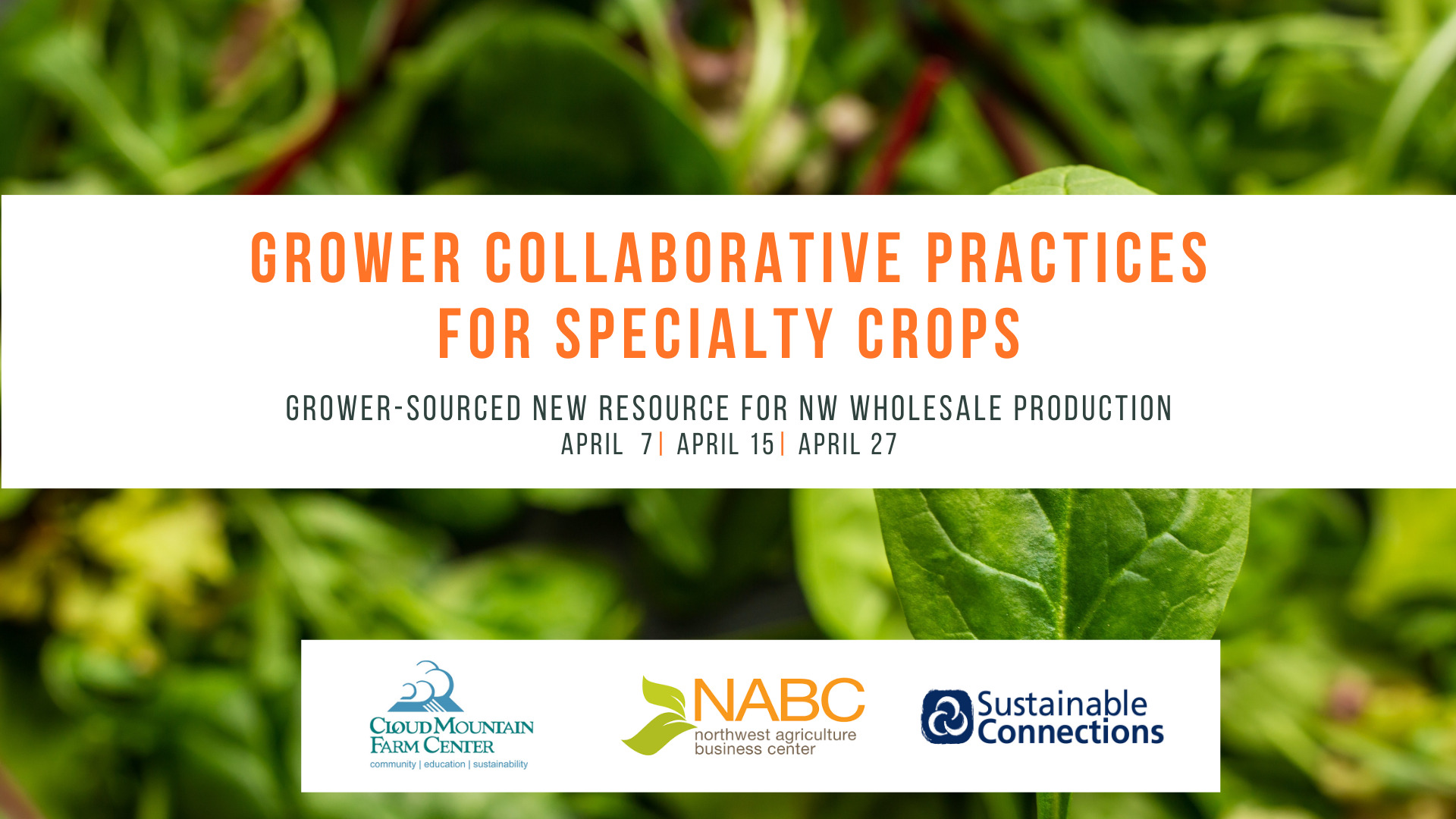 Grower Collaborative Practices for Specialty Crops