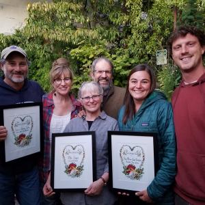 Cedarville Farm wins the Mentor Farmer award