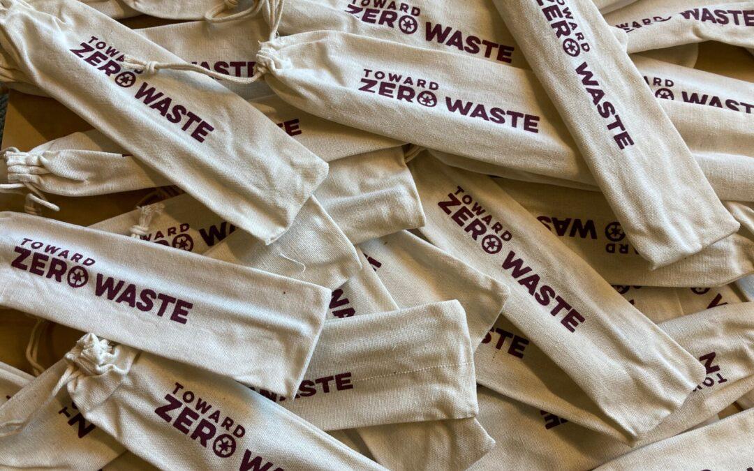 Toward Zero Waste Straw bags where to go for to-go