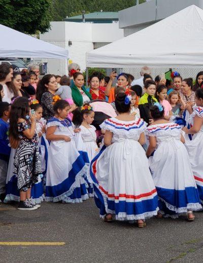 Latino summit dancing