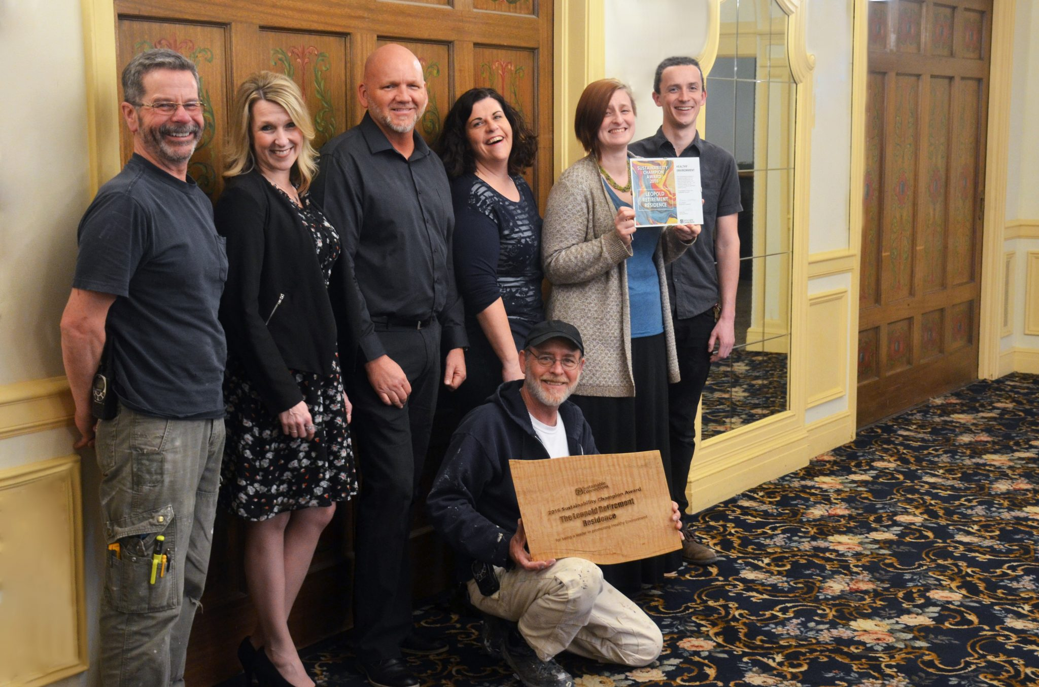 Leopold Retirement Residence Sustainability Champion Award