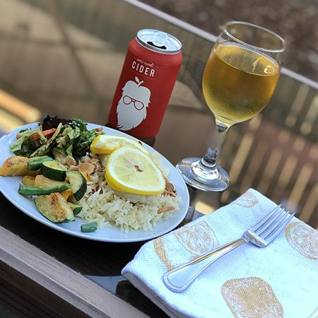 Cider pairs well with any meal!