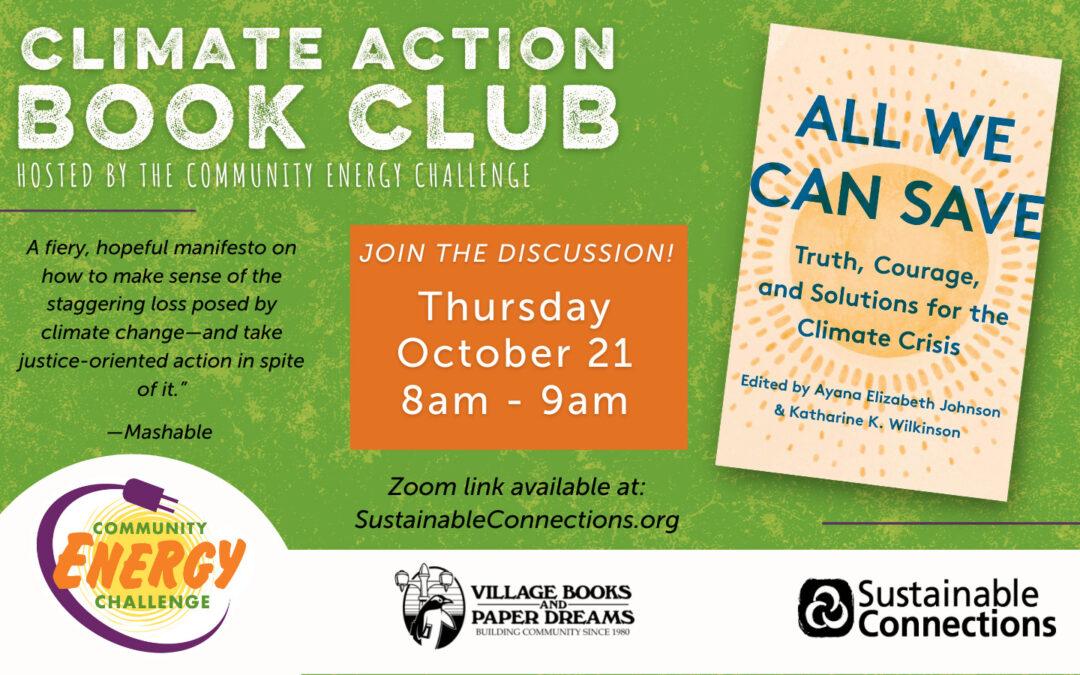 October 2021 CEC Book Club – Flyer