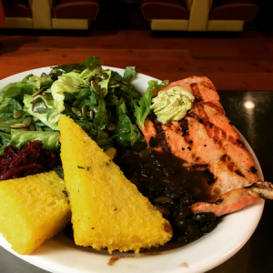Pepper Sisters Salmon Special