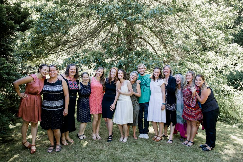Pepper Sisters Staff at Chelans Wedding