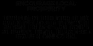 Local Prosperity