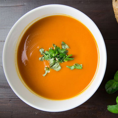 Quick Cream of Vegetable Soup
