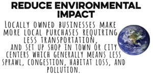 Reduce Environmental Impact