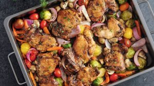 Roasted-Chicken-and-Vegetables