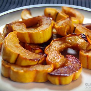 Roasted-Delicata-Squash-with-Honey-and-Sea-Salt