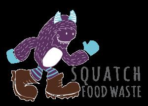 Squatch Food Waste Logo
