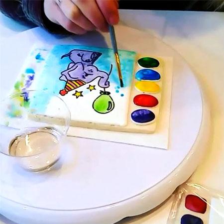 Sweet Bellingham Paint Cookie