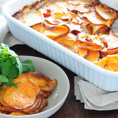Three Potato Gratin