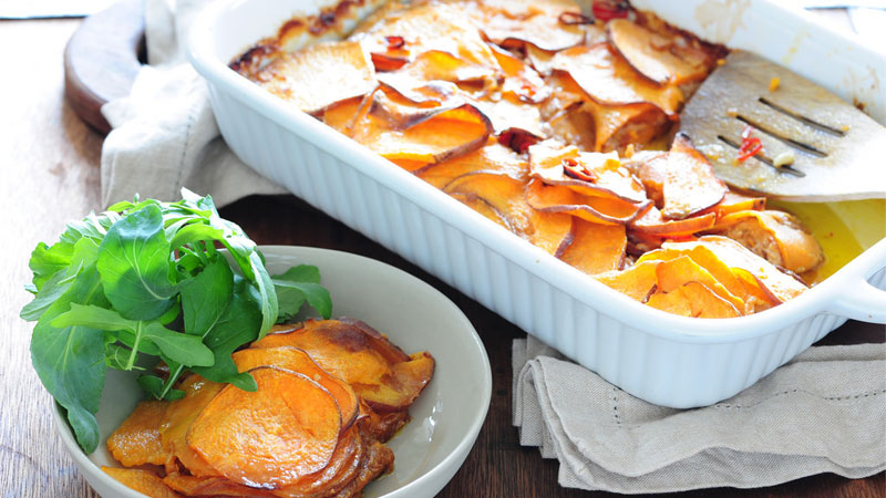 Three-Potato-Gratin