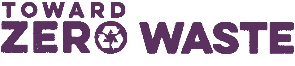 Toward Zero Waste 2018 horizontal
