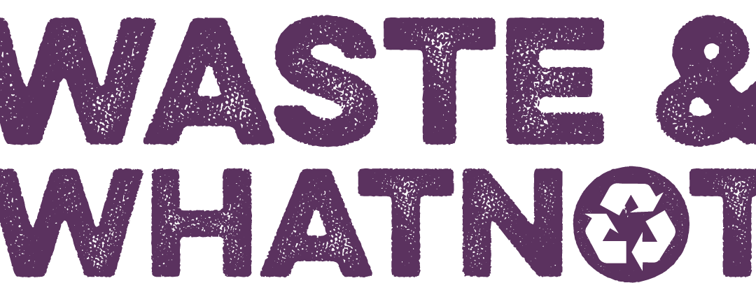 Waste and Whatnot logo purple