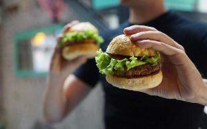 Redistributing good food - like hamburgers!