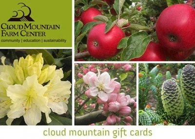 gift card to cloud mountain farm center