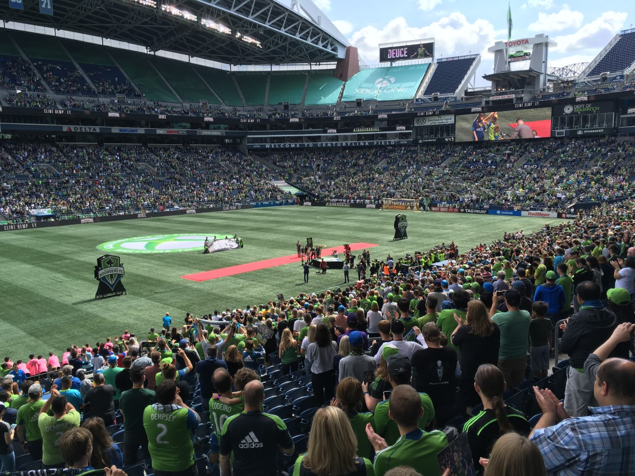 Seattle Sounders game 2019