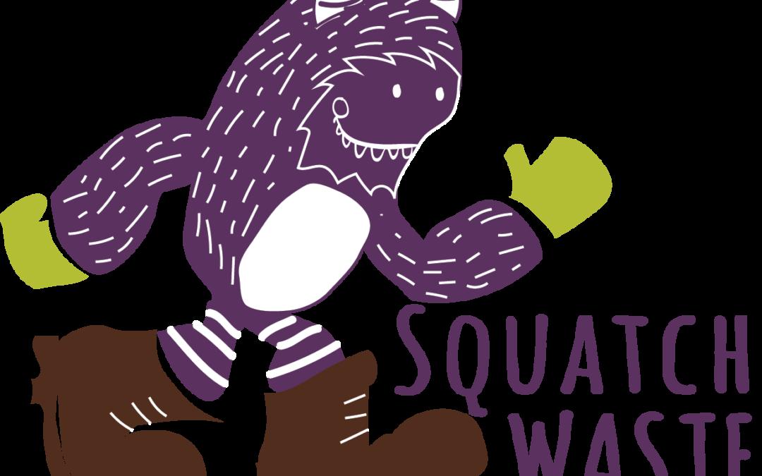 squatch waste logo