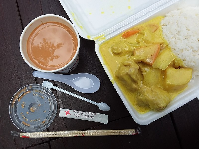 take out curry