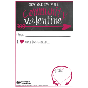 valentines day card 2018 community